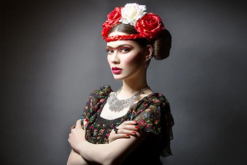 Karnevalskostüm Frida Kahlo
