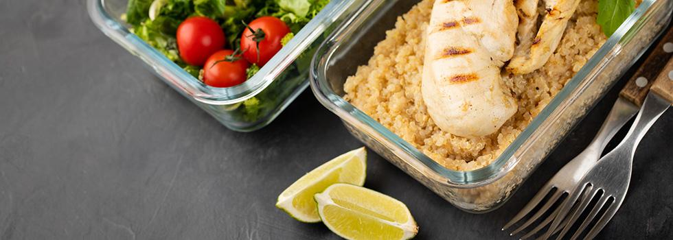 Meal-Prep: Leckeres für unterwegs