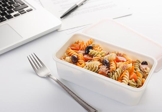 Meal-Prepping - Pasta fürs Büro