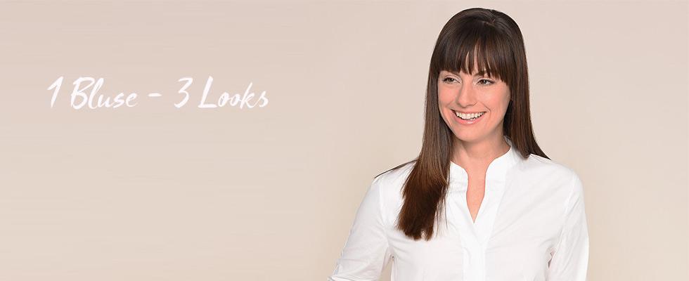 1 Bluse 3 Looks | ADLER Modemagazin