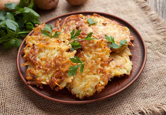 Herbstrezept Kartoffel-Pfannkuchen