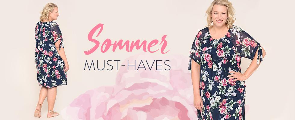 Sommerkleider  für kurvige Frauen