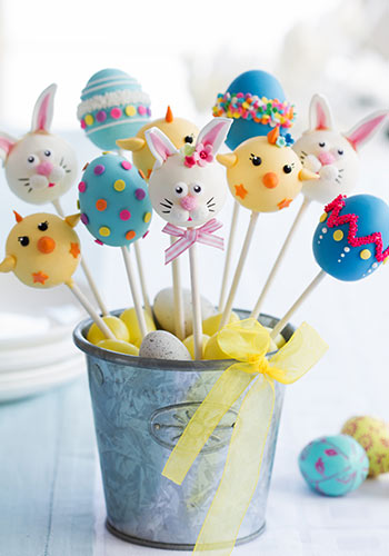 Cake-Pops backen für Ostern