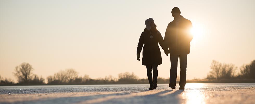 Winteroutfits für den Winterspaziergang
