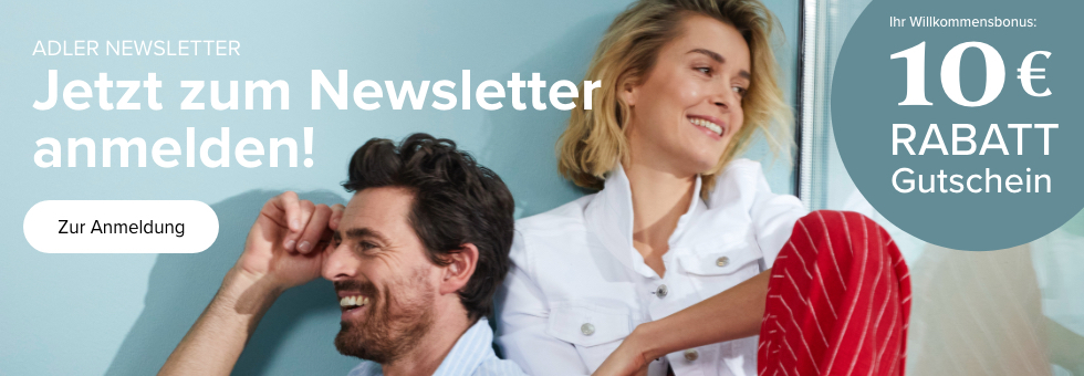 Newsletter Anmeldung beim ADLER Magazin